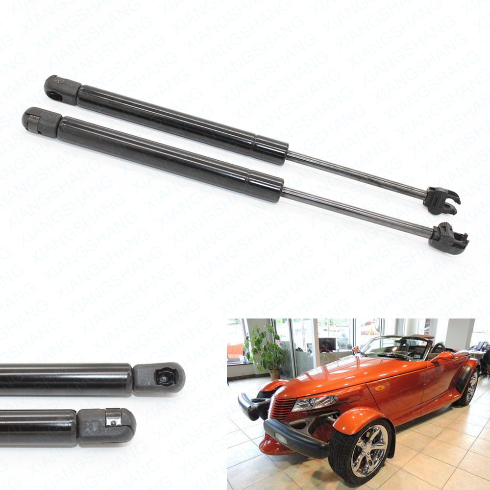 2pcs Front Bonnet Hood Lift Supports Shocks Gas Struts  for Chrysler Prowler 2001 2002 for Plymouth Prowler 1997 2001 8.90 inch|lift support|lift shocks|lift struts - title=
