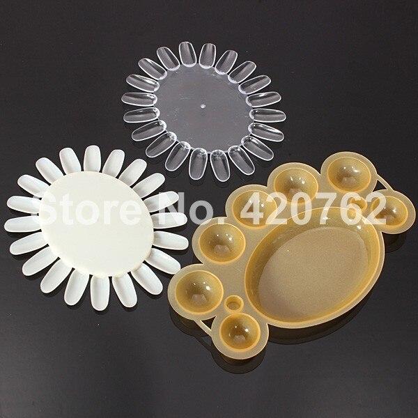 EM-112 Professional 12 kleuren 3D Manicures Set Nail Art verfborstel - Nagel kunst - Foto 4