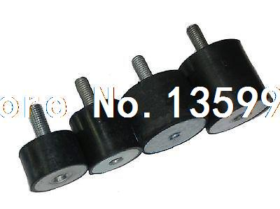 (10) Female Thread M4 Male M4*10 Rubber damper Rubber Mount Size 10mm*8mm