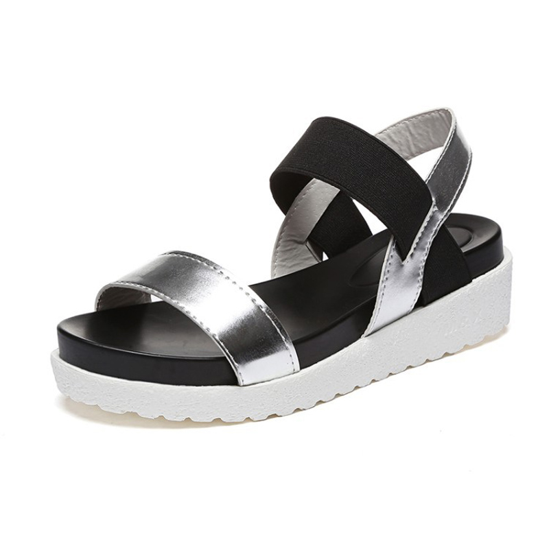 Sandals for Women On Sale, Black, Fabric, 2017, 7.5 Ash