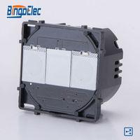 1gang 2way White Light Wall Switch Modular Function Part No Frame EU UK Style Free Shipping