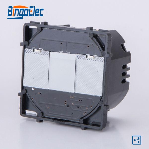 1gang 2way touch sensor light switch modular function part, no switch panel ,EU/UK style,Hot sale1gang 2way touch sensor light switch modular function part, no switch panel ,EU/UK style,Hot sale