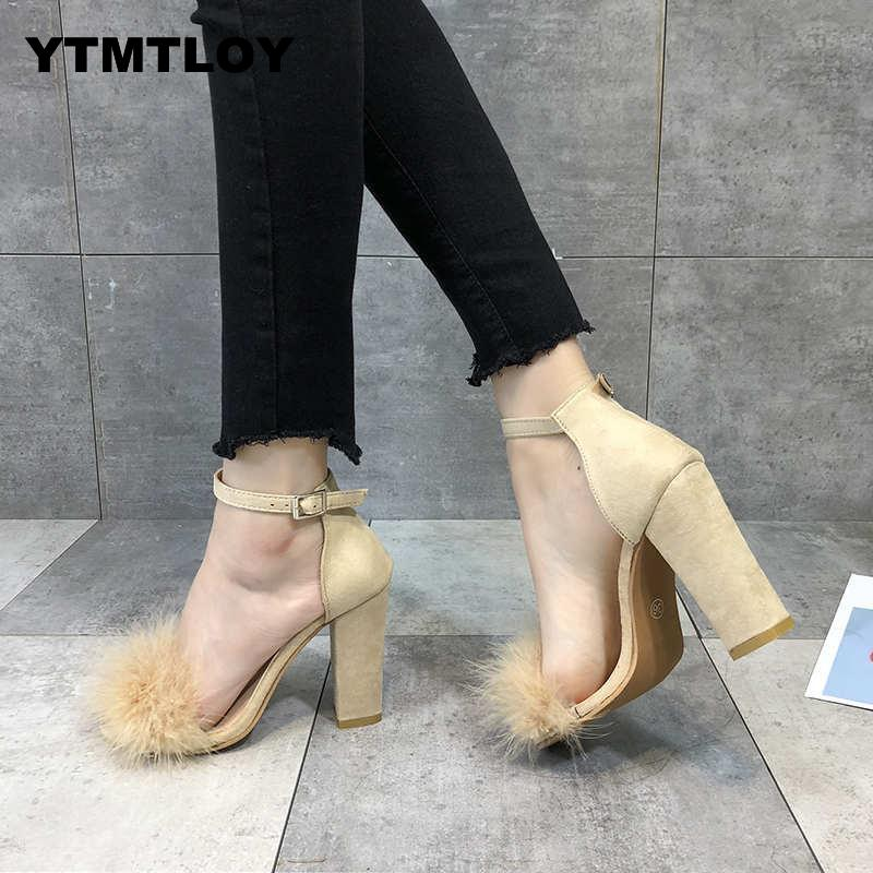 2019 Woman Pumps Shoes High Heels T-stage Sexy Dancing Party