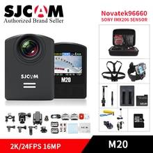 SJ SJCAM M20 Gyro wifi Cámara de La Acción Cam Submarino Mini Videocámara 16MP 2 K/24FPS HD Impermeable sj de vídeo DV deportes DVR cámara de casco