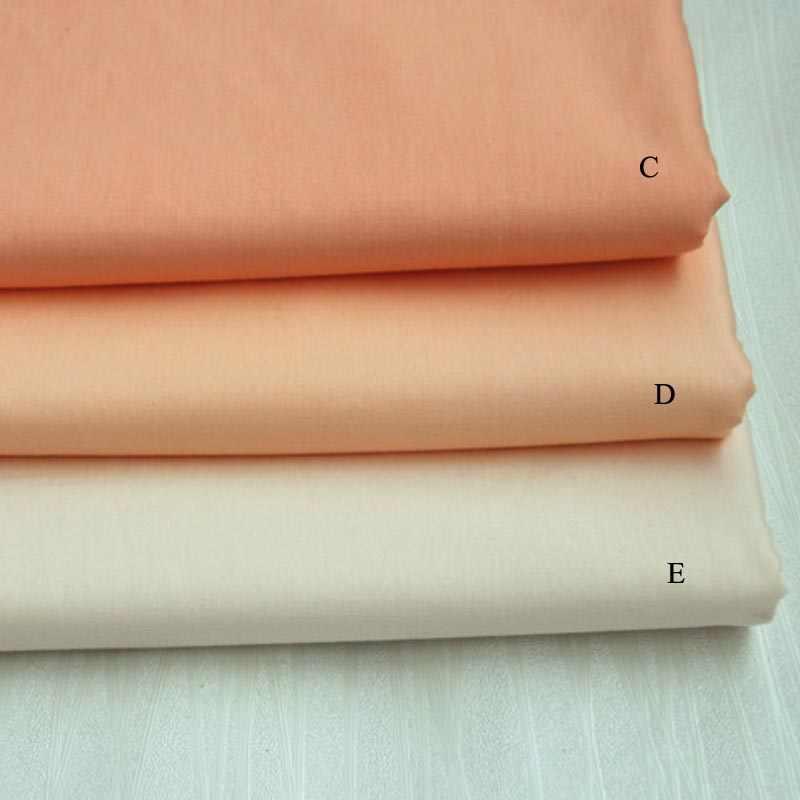 160 cm * 50 cm algodão cor sólida rosa série pano diy para almofadas de cama handwork retalhos estofamento decoração para casa artesanato tecido