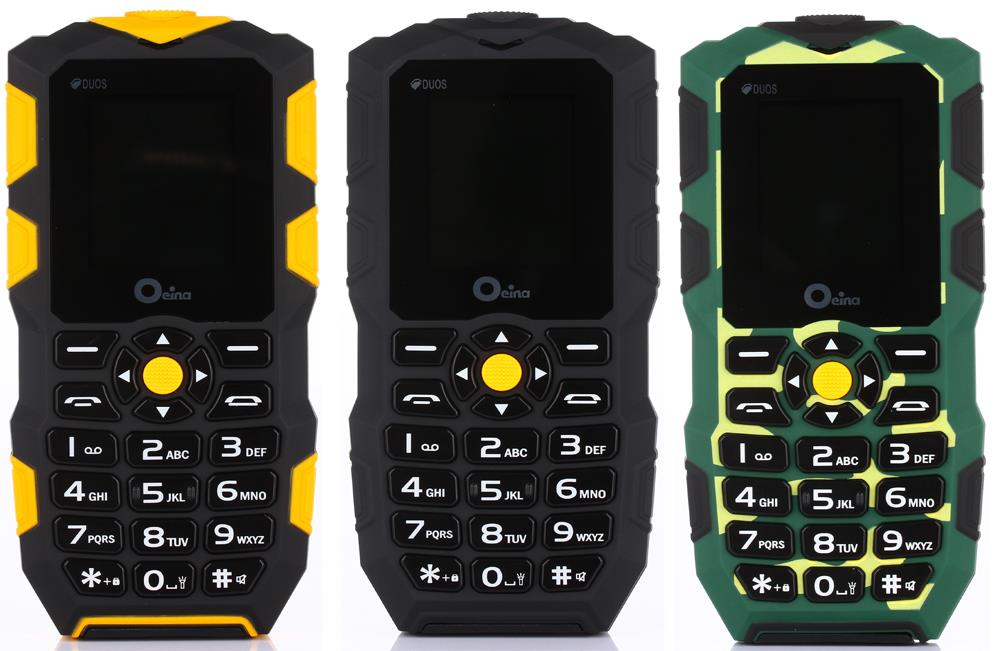 IP67 Waterproof Shockproof Dustproof Rugged Phone Original Kcosit XP1 old man Army Mobile Phone Russian Keyboard