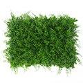 Grama artificial verde da esteira da grama da parede do paisagismo das plantas artificiais da simulação do relvado da paisagem de 40x60cm para o casamento