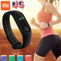 USA Stock Xiaomi Mi Band 2 Smart Bracelet Heart Rate Monitor Miband 2 Smart Wristbands Mi