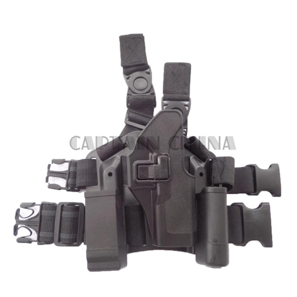 Glock Holster CQC Holster tactique Combat Chasse Gun Accessoires Holster de  Cuisse pour Glock 17 19