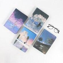 Красивые цветные страницы блокнот Дерево желаний Дневник Книга Корея канцелярские принадлежности Школьные принадлежности