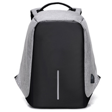 Многофункциональный USB зарядки Для мужчин 15 дюймовый ноутбук Рюкзаки для подростков Модные мужские Mochila отдыха и путешествий рюкзак анти-во...(China)