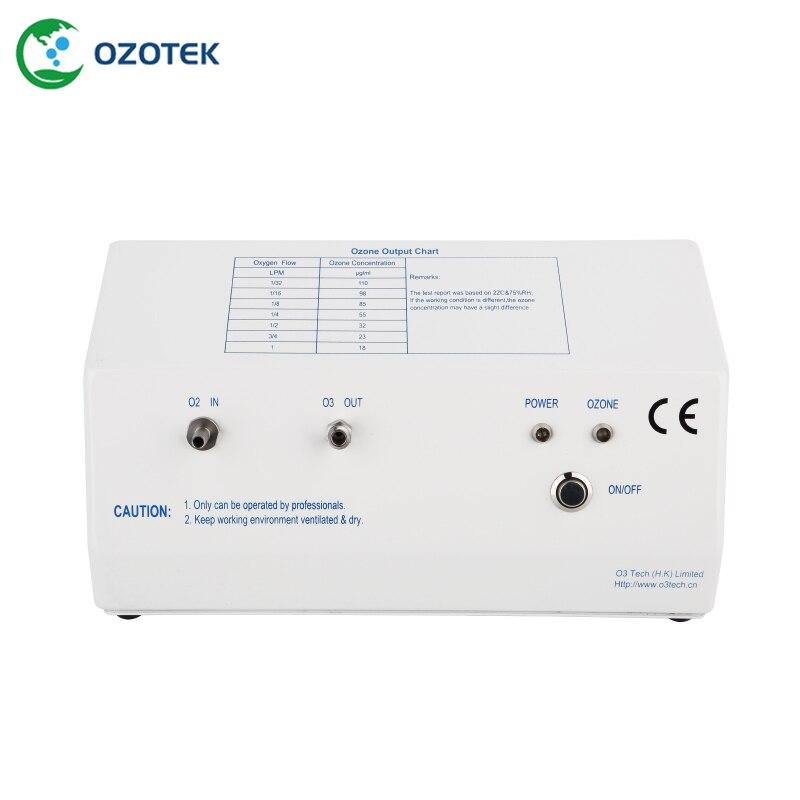 Ozono máquina de la terapia MOG004 ozono terapia 18-110ug/ml (regulador de oxígeno opcional)