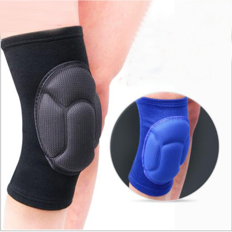 New Thickening Kneepad Football Volleyball Extreme Sports Knee Pad Eblow Brace Support Lap Protect Cycling Knee Protector