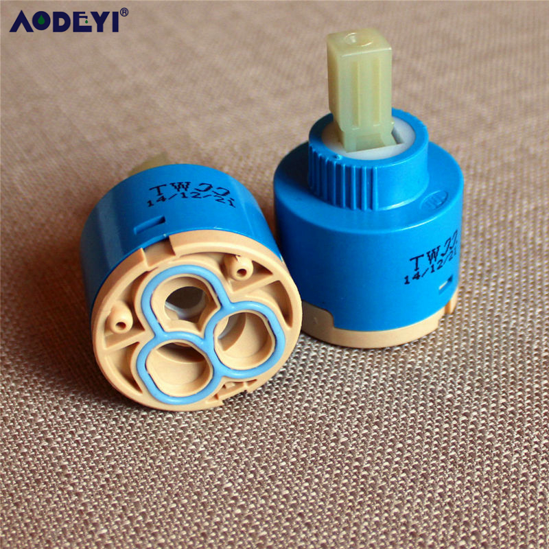 Faucet Ceramic Cartridge 25mm / 35mm / 40mm Mixer Hot&Cold Bath Accessories 11-005