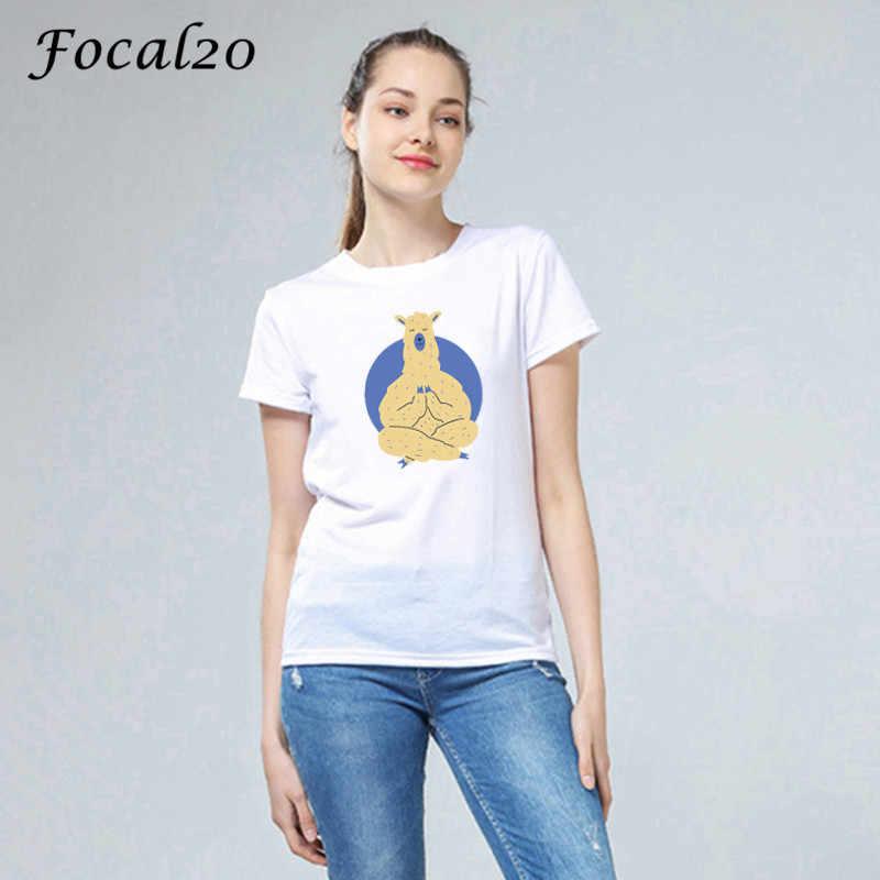 Focal20 原宿プリント女性 Tシャツトップ Tシャツクルーネック半袖夏春ルース女性 Tシャツ Tシャツ
