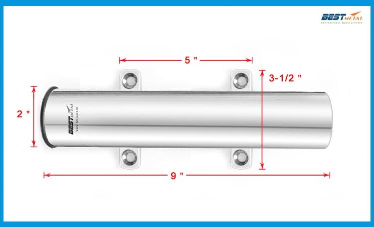 BESTE METAL roestvrij staal 316L marine hardware hengel rack van - Visvangst - Foto 3