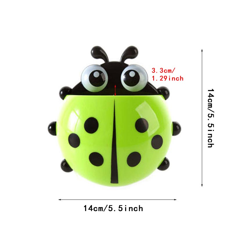 Cute Ladybug Toothbrush Holder 1