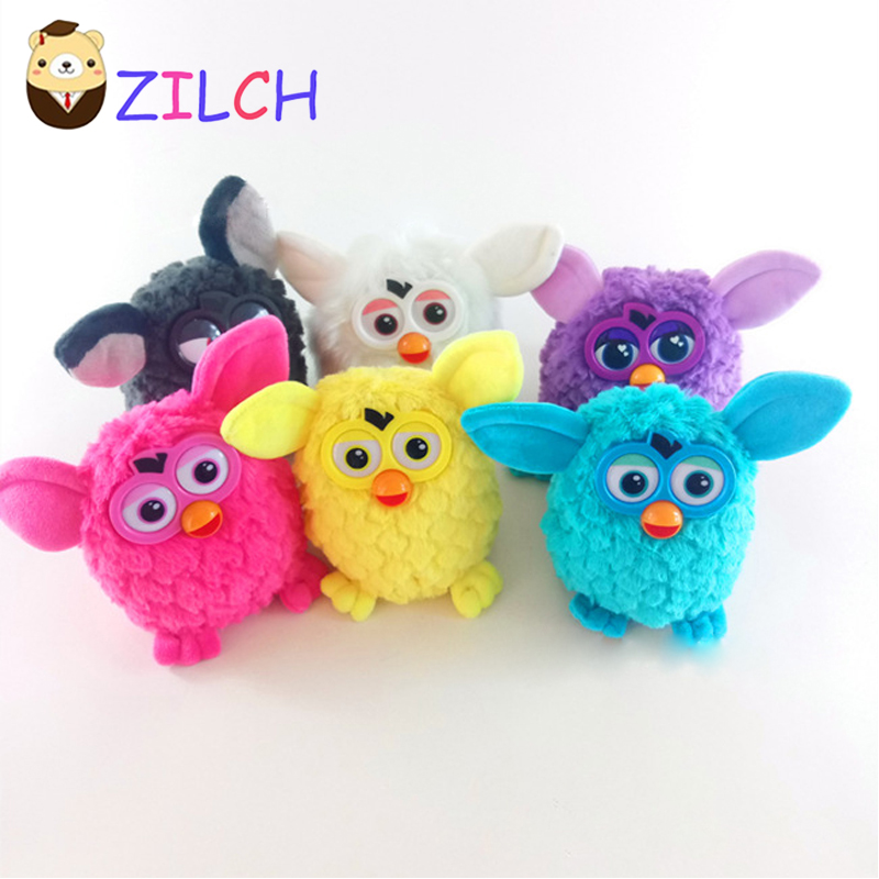 Zilch Hot Sale Electric Plush Furby Wizard Toys Can Talk Record Plush Electronic Pet Toys Best Gift For Kids 18cm игра 1toy сумочка furby волна т57556