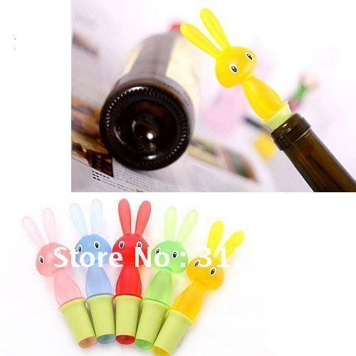 Rabbit Wine Cork Stoppers,Wine Bottle Stopper Parts,Retail and Wholesale