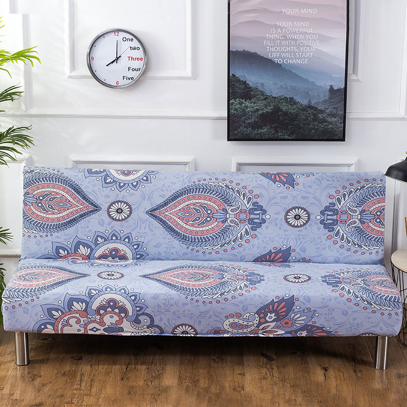 Europe Colorful Printing Without Armrest Sofa Cover Slipcover Elastic Stretch All-inclusive Furniture Slipcovers Couch CoverEurope Colorful Printing Without Armrest Sofa Cover Slipcover Elastic Stretch All-inclusive Furniture Slipcovers Couch Cover