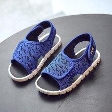 2019 Summer Sandals Boys Children Shoes Toddler Girl Casual Beach Slippers Outdoor Kids Sport For Girls Baby