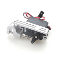 Multicopter Servo Dispenser / Holder for UAV Drones with high torque / high precision, parabolic cable wire Mechanical switch