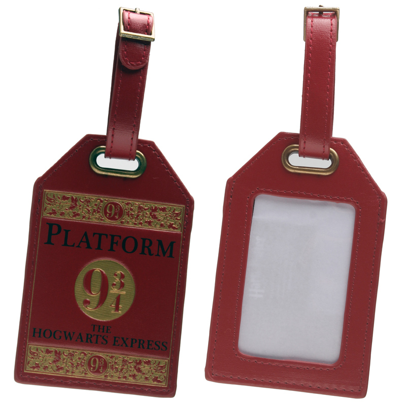 HARRY POTTER  Red  Luggage Tag DFT-1491HARRY POTTER  Red  Luggage Tag DFT-1491