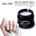 UV Builder Gel Soak Off Strong Extension Nail Gel 15ml Candy Jelly UV Gel 14 Colors Gel for Choice
