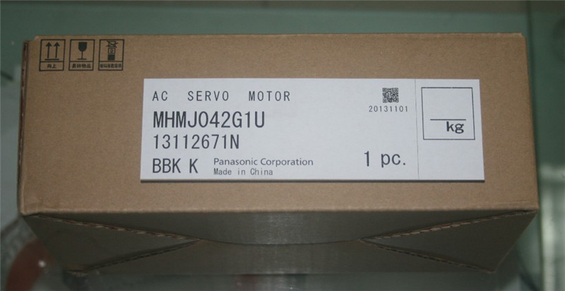 где купить MHMJ042G1U A5 AC Servo Motor 400w 3000rpm 1.3N.m 60mm frame AC200V 20-bit Incremental encoder по лучшей цене