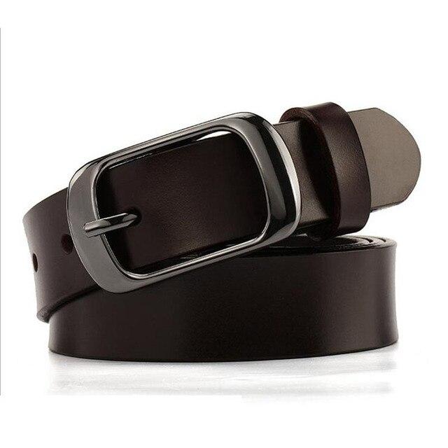Wxh New 2016 Belts Ladies Fashion Leather Belt for Women Hot Style Joker Womens Belts Smooth Leisure Wide Belt Himunu