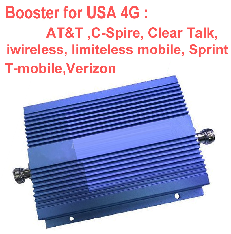 USA 4G Booster 1900Mhz Band 2 4G Repeater  4G LTE FDD Signal Enlarger Amplifier AT&T Sprint Verizon T Mobile 4G Repeater
