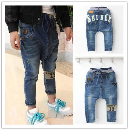 d44f83314 2017 Autumn best quality children clothing jeans kids harem pants baby boys  girls big pp pant 2 7 years-in Jeans from Mother & Kids on Aliexpress.com  ...