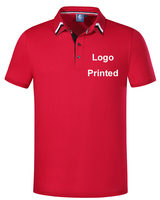 2018 Casual Polo Shirt accept custom logo printed Solid Casual Polo Homme For Women Tee Shirt High Quality Cotton Anti pilling