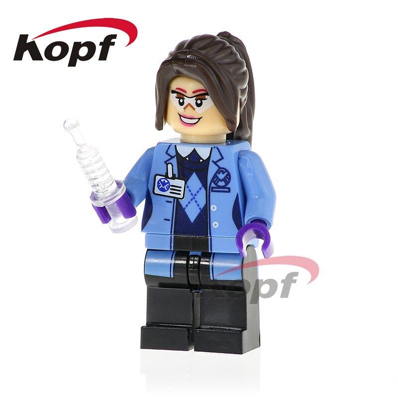 50Pcs XH 786 Super Heroes Jemma Simmons Mockingbird Melinda May Daisy Johnson Building Blocks Bricks Action Children Gift Toys