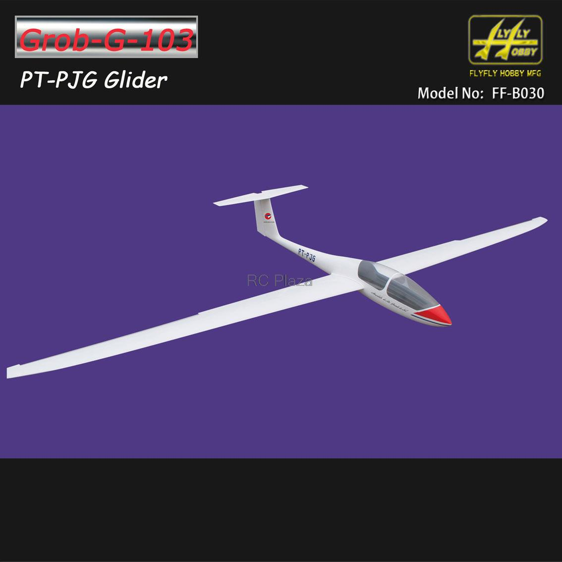 Grob-G-103 Slope Glider PT-PJG with brake 3000mm ARF without electric part RC sailplane ls8 18 sailplane eps 2000mm pnp without battery