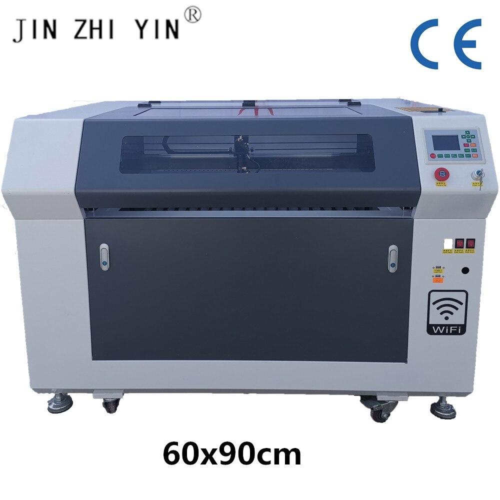 WIFI Control 6090 100w Reci Co2 Laser Engraving Machine Co2 Laser Engraving Machine With Wood Acrylic Glass