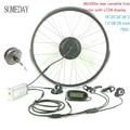 Когда-нибудь Электрический велосипед конверсионный комплект весь водонепроницаемый кабель 48V500W E-bike передний Мотор Ступицы Колеса с LCD6 дис...