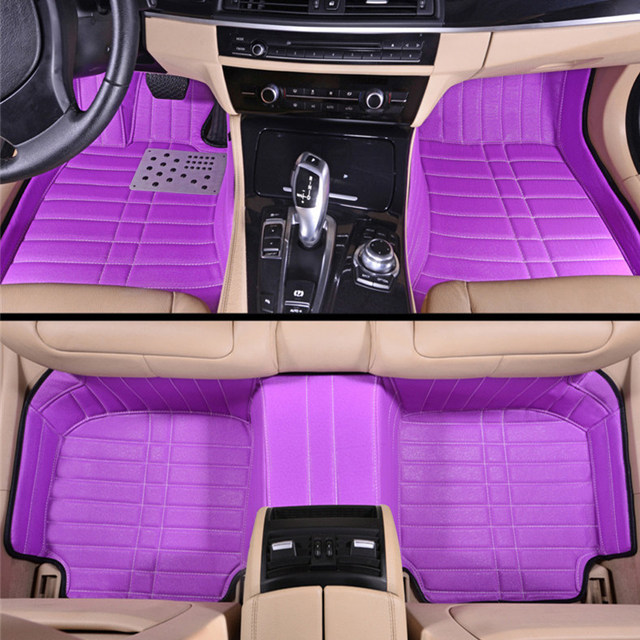 car floor mats for women. Girls Women\u0027s Personality High Quality Fashion Full Surrounded Pink 5d Customized Car Floor Mats For All Models Women F