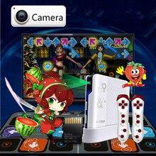 Câmera Cdragon tapetes tapete de dança dance pad motion sensing jogo 11mm sem fio para tv pc Jogo de Dança de fitness gratuito grátis