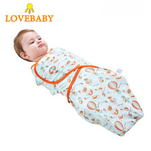iiilovebaby 2PCS 100% Cotton Baby Sleeping Bag Summer Stroller Maxi Cosi Newbron Cartoon Sleep Slaapzak Spiworek