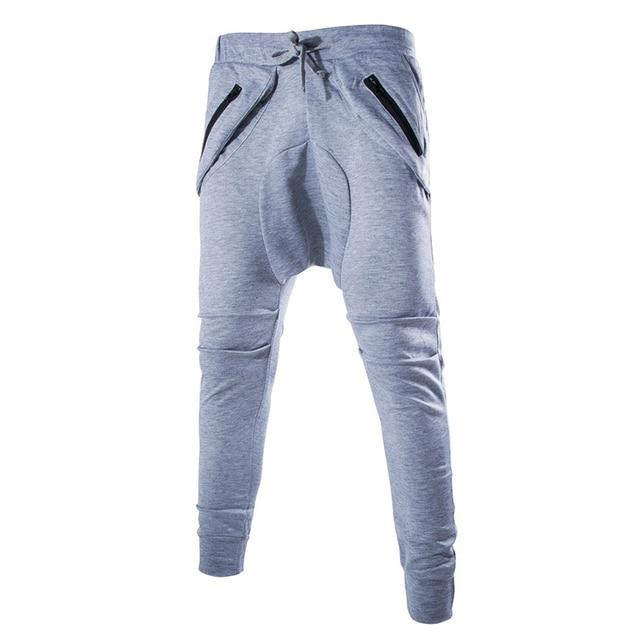 d1e74f6c1 Unique Pocket Men Pants Sweatpants Mens Joggers Cargo Harem Pants Men  harajuku Pants Men Pantalones Hombre