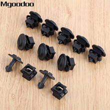 Mgoodoo 10set Under Engine Cover Undertray Fitting clip set Fit For Audi A4 A6 Volkswagen