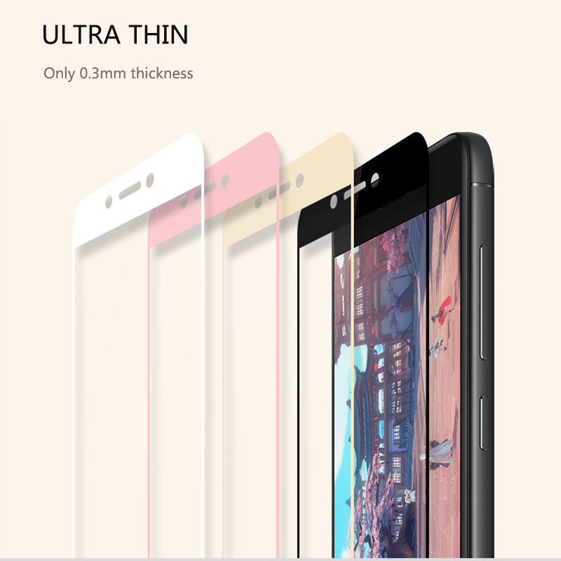 Image 5 - Thouport Full Tempered Glass For Xiaomi Redmi Note 4 Global Version Screen Protector Protective Film Redmi Note4 Glass-in Phone Screen Protectors from Cellphones & Telecommunications