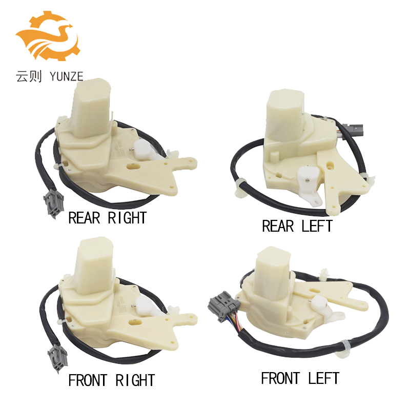 4PCS FRONT REAR LEFT RIGHT SIDE CENTRAL DOOR LOCK ACTUATOR FOR HONDA ACCORD 1994-1997 YEAR