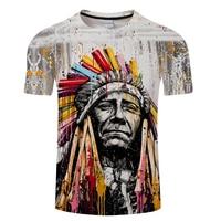 Horse&Cow&Native&Wolf With Music 3D Men T Shirt ShortSleeve Tshirt 3D Print T-shirt Summer Vintage Loose Tops Thin Tees Dropship 3
