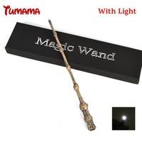 Harry Potter Magic Wand Cosplay Led Light Albus Dumbledore The Elder Wand Light Kid COS Magical