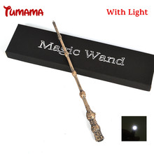 Harry Potter Magic Wand Cosplay Led Light Albus Dumbledore The Elder Wand Light Kid COS Magical Tricks Gift With Original Box