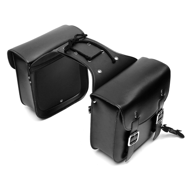 1Pair Motorcycle Tail Side Saddle Bags Large Capacity Motorbike Side Storage Tool Bags For Harley For Honda