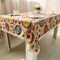 Eólica Nacional Bohemian Rendas Toalha De Mesa Mesa de Jantar Mesa de Pano de Linho de Algodão Decorativo Tampa Para Cozinha Home Decor U0997