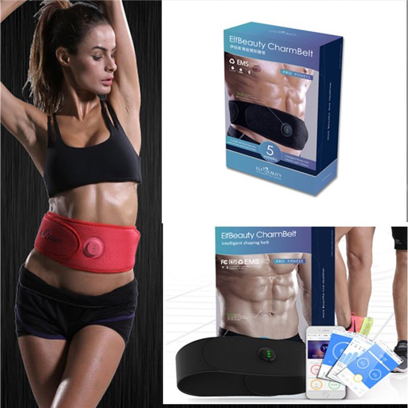 2018 Version FDA  Easy Body Shredder Electric Gymnic  Ab Fit Toning slimming Belt electric beauty body slimming and lipoid fat massaging massager is powerful vibratory body and slimming machine